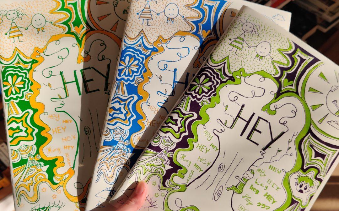 «HEY !» le fanzine des jeunes du Centre Social de Nexon