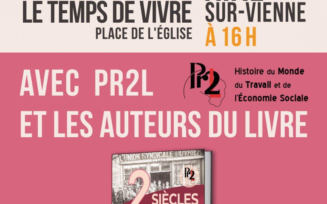 Rencontre autour du livre «Deux siècles de Solidarités en Limousin et au-delà»/ SAMEDI 12 JUIN